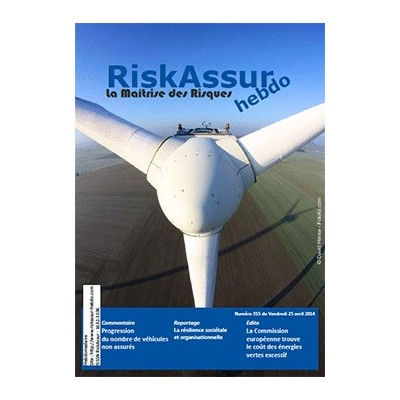 Numéro 355 de RiskAssur-hebdo du Vendredi 25 avril 2014