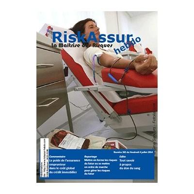 Numéro 365 de RiskAssur-hebdo du Vendredi 4 juillet 2014