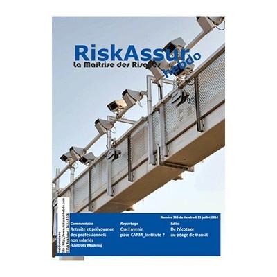 Numéro 366 de RiskAssur-hebdo du Vendredi 11 juillet 2014