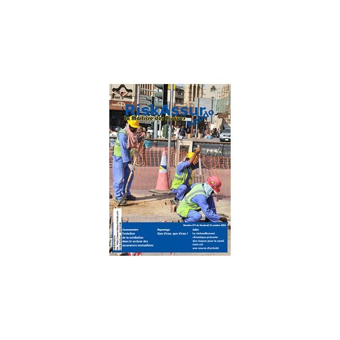 Numéro 377 de RiskAssur-hebdo du Vendredi 31 octobre 2014