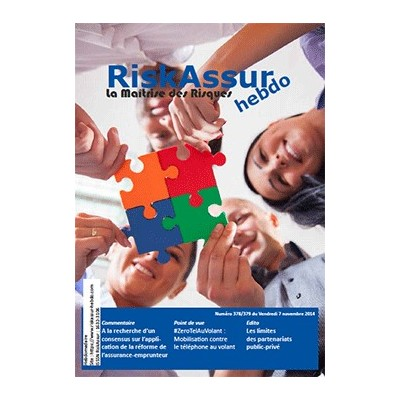 Numéro 378/379 de RiskAssur-hebdo du Vendredi 7 novembre 2014