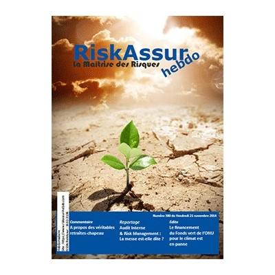 Numéro 380 de RiskAssur-hebdo du Vendredi 21 novembre 2014