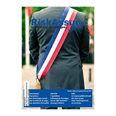 Sommaire du numéro 389 de RiskAssur-hebdo du Vendredi 6 février 2015