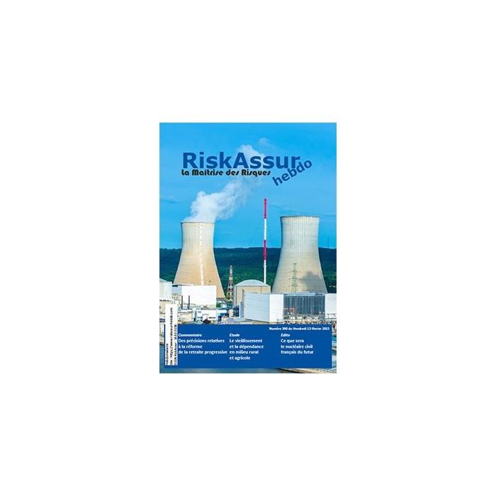 Sommaire du numéro 390 de RiskAssur-hebdo du Vendredi 13 février 2015