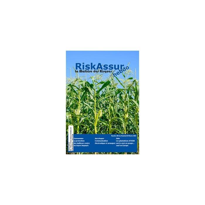Sommaire du numéro 391 de RiskAssur-hebdo du Vendredi 20 février 2015